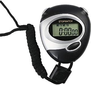 CXQWAN stoppur, digital handhållen sportstoppur stoppur timer löptimer bärbar professionell sport digital timer för idrott...