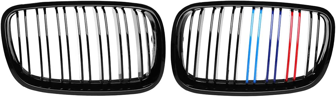 PPCP Bumper Kidney Grille X5 x6 Manufacturer regenerated product Double Ranking TOP6 Gloss Black Grill