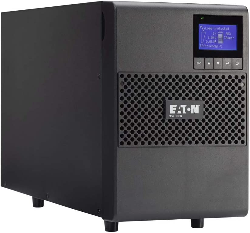 Eaton 9SX 9SX1000G 1000VA 900W 208V Online LCD Tower UPS Back Up