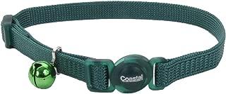 Coastal Pet Safe Cat Adjustable Snag-Proof Nylon Breakaway Collar, Adjust 8