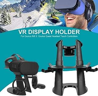 Support De Casque VR pour Accessoires De Support D'Affichage pour Monture VR Oculus Rift S/Oculus Quest, Contrôleurs Tactiles pour Casque S Oculus Quest