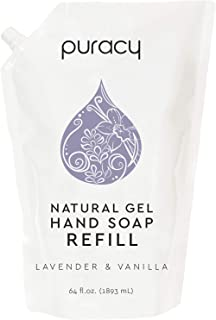 Puracy Natural Gel Hand Wash, Vegan, Hypoallergenic, All Skin Types, Lavender &..
