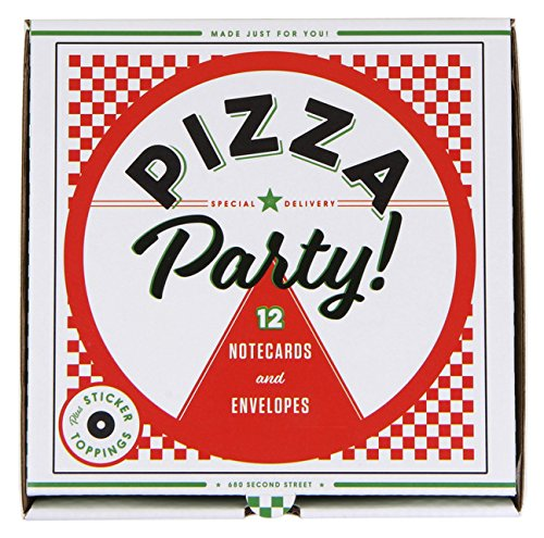 Pizza Party!: 12 Notecards & Envelopes