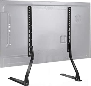 PERLESMITH Universal Table Top TV Stand for 37 – 70 Inch Flat Screen, LCD TVs..