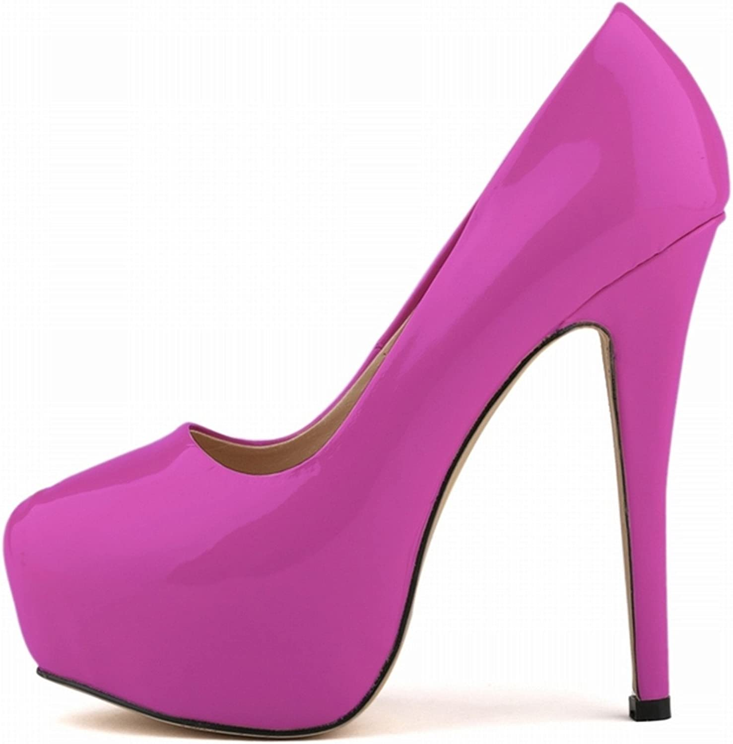 Pumps Women Sexy Extremely High Heels shoes Bridal Stiletto Red Ladies Wedding Party shoes 817-1PA