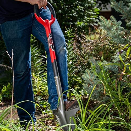 Radius Garden 22011 Root Slayer Shovel, (Red)