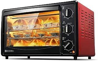 Toaster oven STBD-Horno doméstico multifunción, función de Temperatura Completa, Horquilla giratoria de 360 °, Mango antical, 2000 W, máquina de Hornear de Mesa de Cocina