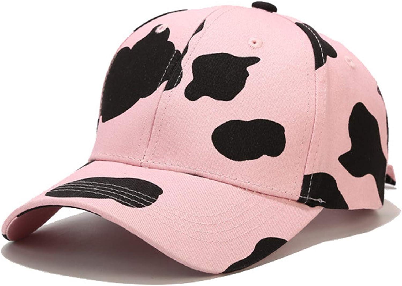 Aelidiya Zebra Cow Print Baseball Cap for Women Men Animal Print Low Profile Adjustable Dad Hat
