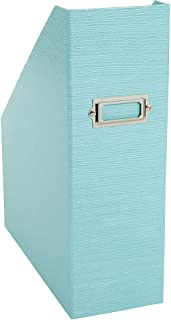 Office By Martha Stewart Stack + Fit Magazine File, Blue