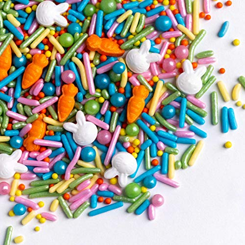 Easter and Spring Cakes and Ice Cream for your Cupcakes and Sugar Cookies Summer Daisy Jimmies Mix 6 oz Sprinkles
