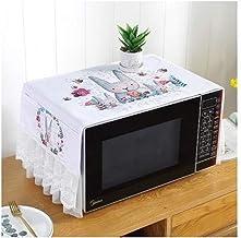 HHYK Microondas Cubierta de Tela de Encaje con la Bolsa de la Anti del Aceite a Prueba de Polvo del Horno microondas Bolsa de Almacenamiento índice Suministro Accesorios de Cocina