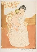 Mary Cassatt Giclee Papel de Arte impresión Obras de Arte Pinturas Reproducción de Carteles(Caricia Materna) #XZZ