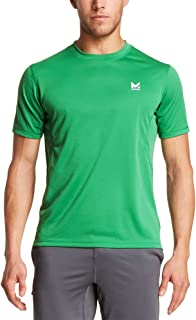 Mission Men's VaporActive Alpha Short Sleeve Athletic Shirt, Forest Green, Medium
