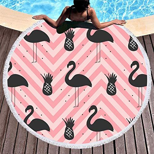 Strandhanddoek, extra breed, yogamat voor strand, vakantie, strandhanddoek, 150 cm