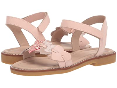 Elephantito Caro Cuore Sandal (Toddler/Little Kid/Big Kid) (Pink) Girls Shoes