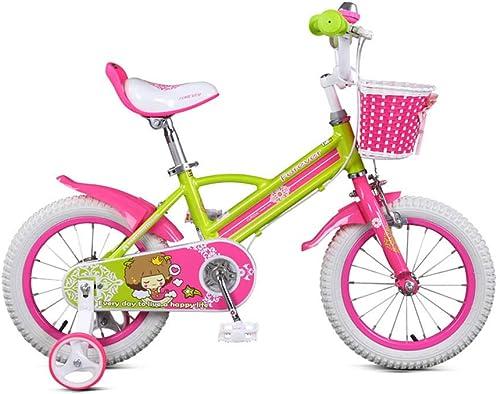 Compra calidad 100% autentica Bicicleta para Niños 14 14 14 pulgadas Aleación de aluminio Princess Car 3-6 años de edad hombres y mujeres Niños Bebé Bicicleta Marco de aleación de aluminio Bellamente soldado, ligero y fácil de montar .  la mejor selección de