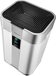 GXFC 2200W Calentador de convección eléctrico, Radiador portátil con Ruedas, Ajustable 4 configuraciones de calefacción, Control Remoto, Temporizador 24 h, Calentador Auxiliar de Oficina, hogar
