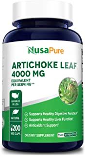 Sponsored Ad - Artichoke Extract 4000mg 200 Veggie caps (Non-GMO, Extract 4:1 & Gluten Free) Cynara Scolymus Leaf - Health...