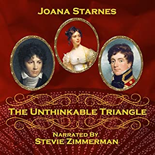 The Unthinkable Triangle     A Pride and Prejudice Variation              By:                                                                                                                                 Joana Starnes                               Narrated by:                                                                                                                                 Stevie Zimmerman                      Length: 9 hrs and 52 mins     9 ratings     Overall 4.6