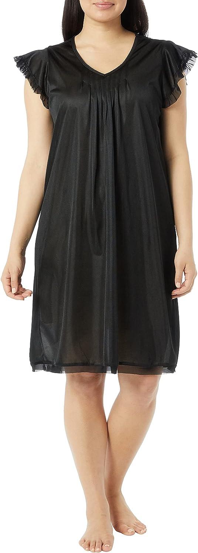 Amerimark Cute Memphis Mall Nightgown for Women Short Very popular! Ladies Tricot Nightgo