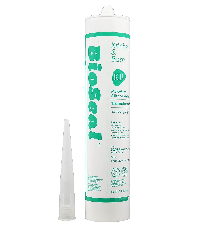 Max 46% OFF BioSeal Translucent Silicone Caulk Sealant Kitchen Bath Cheap super special price Mil No