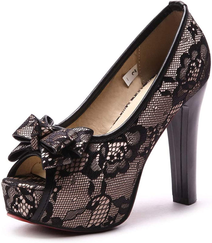 Ms. Fish Mouth Waterproof Platform Code Sandals Super High Heels Women Fashion (color   C, Size   5.5 US)