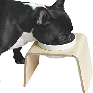 iDog Living Keat Extra キートエキストラ フードボウル別売 ブラウン 犬 食器台
