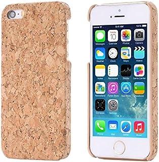 1e15e044f1c ECENCE Apple iPhone SE / 5 5S Corcho Funda Caja Caso Madera Natural Hard  Case Cover