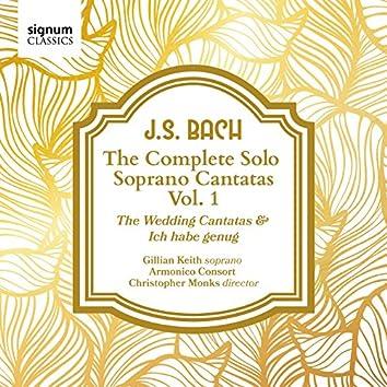 J. S. Bach: The Complete Solo Soprano Cantatas, Vol. 1