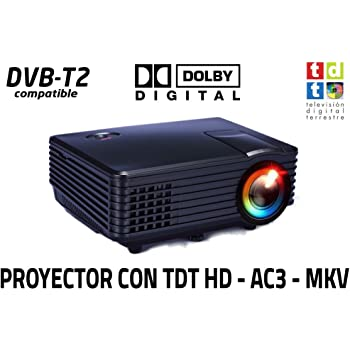 Proyector FULLHD Compatible Luximagen SV100 con TDT TV Integrado ...