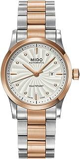 MIDO - M0050072203600 XS Multifort - Reloj de Pulsera para Mujer (analógico, automático, Acero Inoxidable)