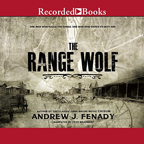 The Range Wolf audiobook cover art