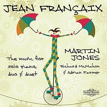 Françaix: Music for Solo Piano, Duo & Duet