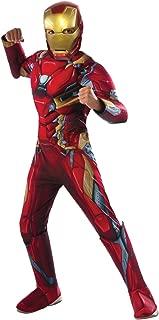 Rubie's Costume Captain America: Civil War Deluxe Iron Man Costume, Small