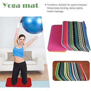 Genouill/ères // Tapis de yoga La Stabilit/é et L/équilibre Id/éal pour le yoga Alaman Yoga knee matte // knee pads // Am/éliorer la Mobilit/é Protecteurs du genou le pilates et le fitness 2 Pi/èce