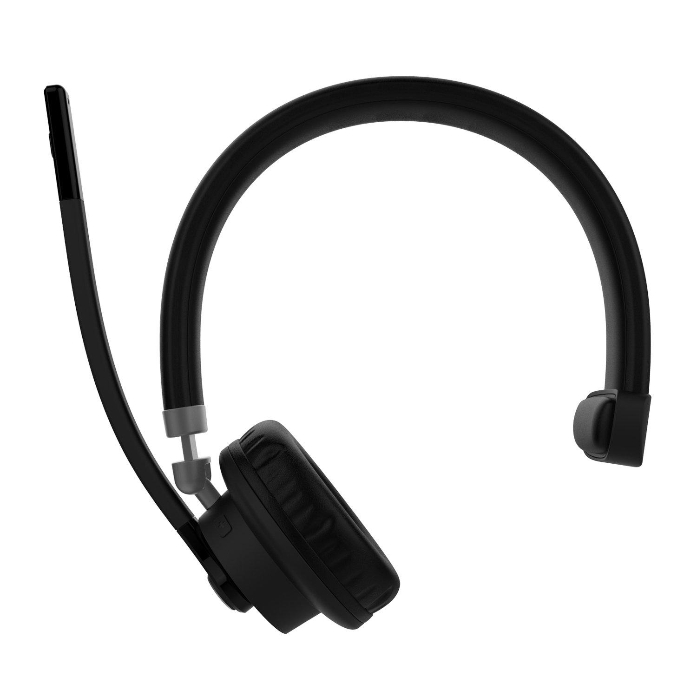 Willful Bluetoothヘッドセット ワイヤレスヘッドセット高音質 トラック運転手/コールセンター/ビデオチャット/遠隔会議使用 片耳 Android & iphone & PC &PS3対応音質高
