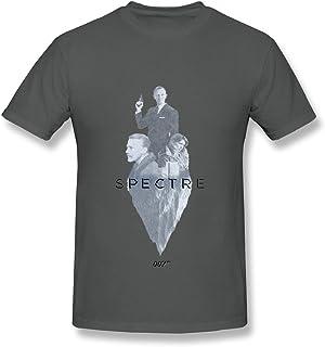 Spectre James Bond Film T Shirt For Men White XXXX-L