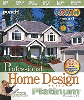 Punch! Professional Home Design Platinum v10