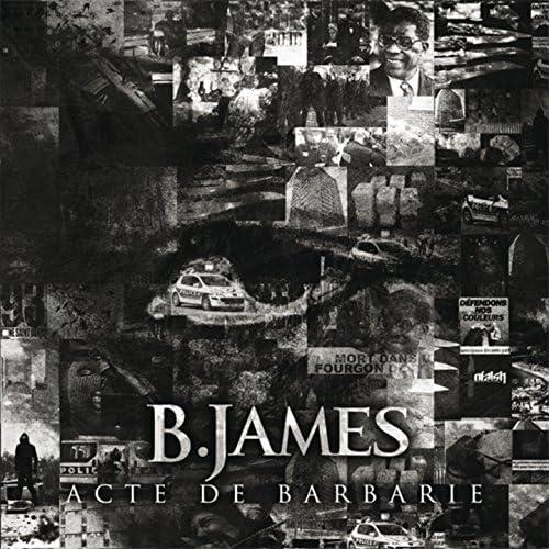 B. James