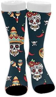 Athletic Hiking Socks Crew Dress Socks Non Slip Compression Socks for Gym