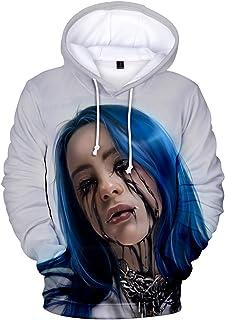 liaoyang Billie Eilish Hoodies Sweatershirt for Men Women Youth sizekKey