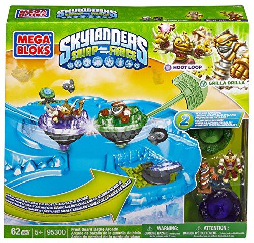 Mega Bloks 95300 - Skylanders Frost Guard Battle Arcade, Konstruktionsspielzeug