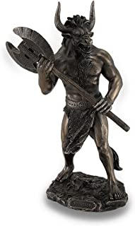 Design Toscano Theseus Fighting With The Minotaur Bonded Marble Resin Statue 1850 Home Kitchen Home Décor