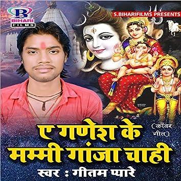 Ae Ganesh Ke Mummy Gaanja Chahi - Single
