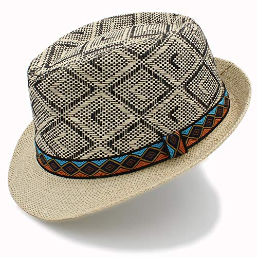 Phare Led Chapeau de paille élégant chapeau de soleil Lumières LED pour voiture (Color : Black)
