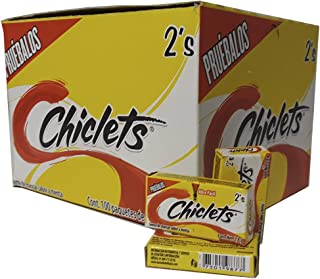 Adams Gum 100 x 2 units - Chiclets (Pack of 1)