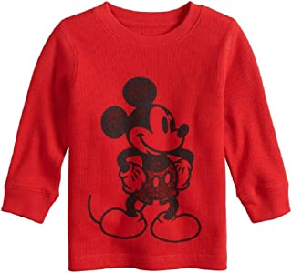 Jumping Beans Mickey Mouse & Friends Baby Boy Thermal Graphic Long Sleeve T- Shirt Tee