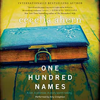 One Hundred Names     A Novel              By:                                                                                                                                 Cecelia Ahern                               Narrated by:                                                                                                                                 Amy Creighton                      Length: 10 hrs and 56 mins     101 ratings     Overall 4.1