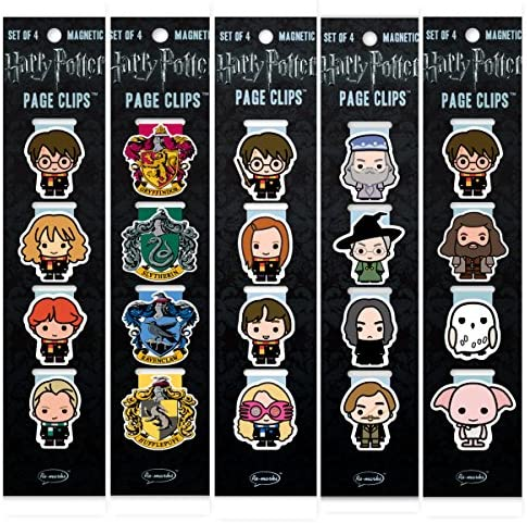 Re marks Harry Potter Students Professors Wizards Hogwarts and Crests Page Clip 5 Pack product image