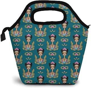 ZYRBsys Frida Kahlo Pattern Lunch Bag for Men Women Kids - Best Travel Bag